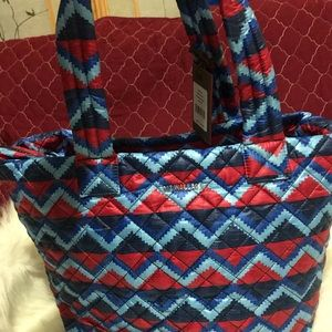 NWT.  MZ WALLACE MEDIUM TOTE ZIGZAG DESIGN